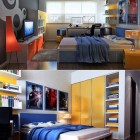 Modern and Colorful Boys Bodroom Ideas