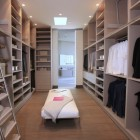 Modern and Large Walk in Closet Design