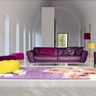 Purple and Yellow Modern Sofa Design Inspirations