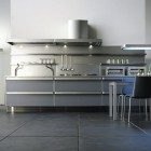 Sophisticated kitchens Design with Green Accent by Toyo
