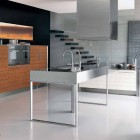 Stainless Steel Countertops Kitchen by Berloni