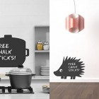 Urban Design Wall Stickers Chalk Boards Ideas