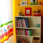 Yellow Wal Color Kid Bedroom Ideas