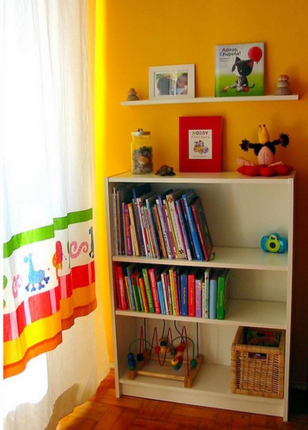Yellow Wal Color Kid Bedroom Ideas