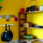 Yellow Wall Color Kitchen Areas