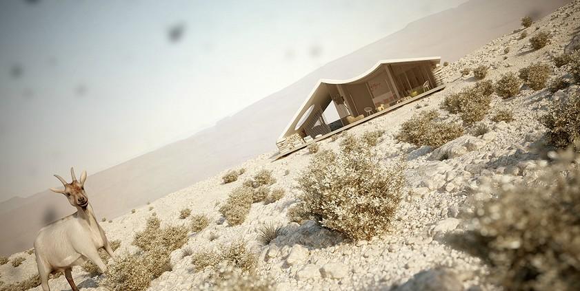 Amazing Desert Residance View