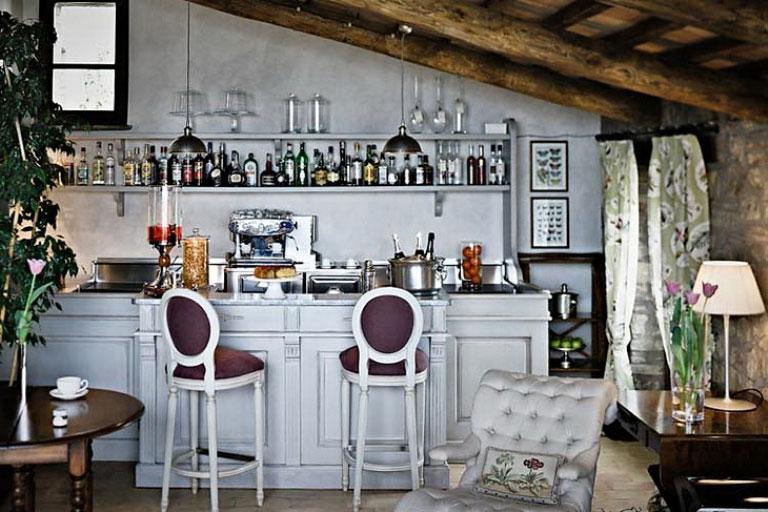 Awesome Minibar Table Design Ideas