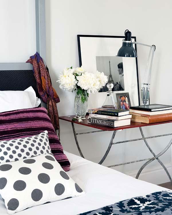 Beautiful Polka Dot Pillow Design