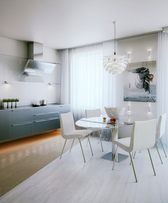 Modern and Awesome Small Apartment Design Beautiful Small Space ...