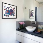 Contemporary White Sink Inspirations