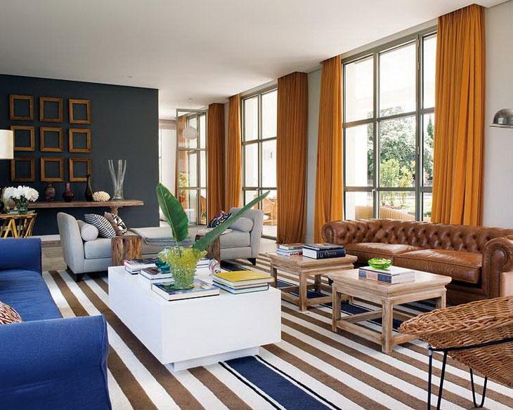 Colorful Modern Luxury Villa Design Architecture Design