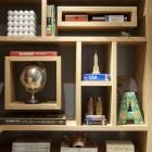 Creative Bookshelf Like Labirin Design