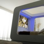 Entertainment Bed with Built in LCD TV