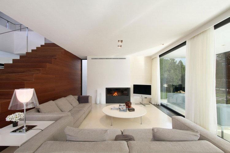 Floor to Ceiling Windows Living Room
