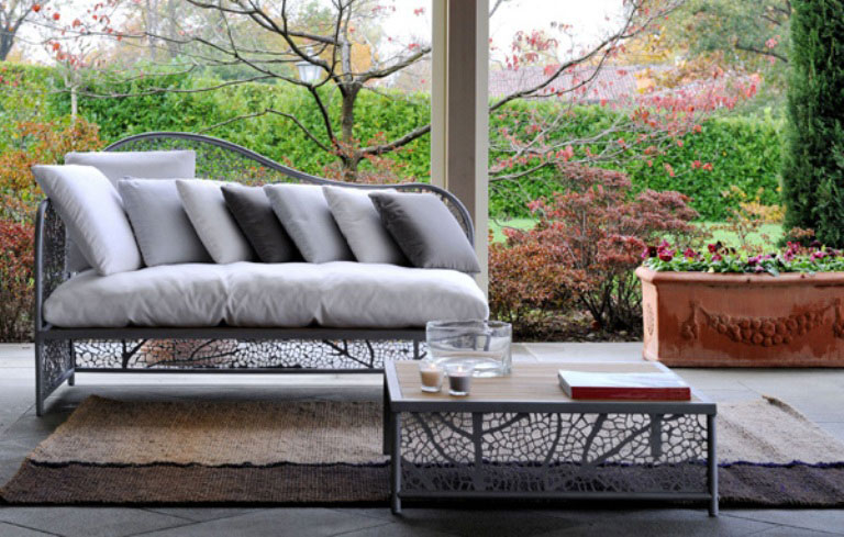 Grey Outdoor Furniture with Beige Rugs Ideas Interior