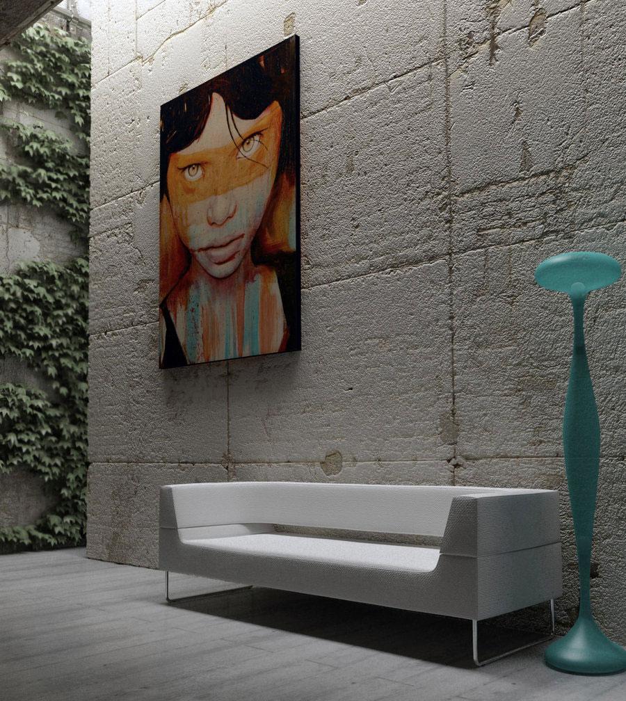 Indoor Wall Painting Ideas: Modern Gray Interior Design Inspirations