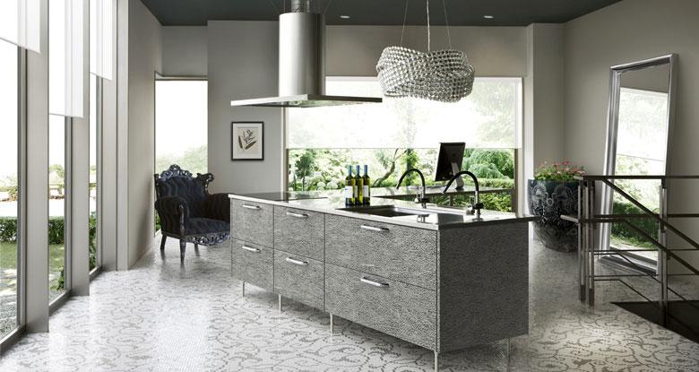 Japanese Grey Luxury Kitchens Inspirations