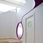 Minimalist Corridor with White Wall Color