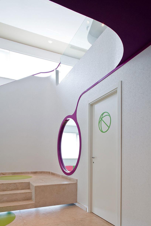Minimalist Corridor with White Wall Color