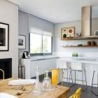 Minimalistic White Kitchen Design