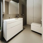 Modern Minimal white Sinks Design