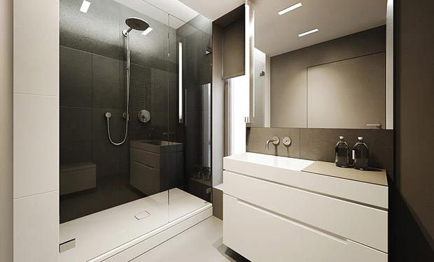 Modern minimalistic bathroom design 2012 interior design for Small bathroom designs 2012