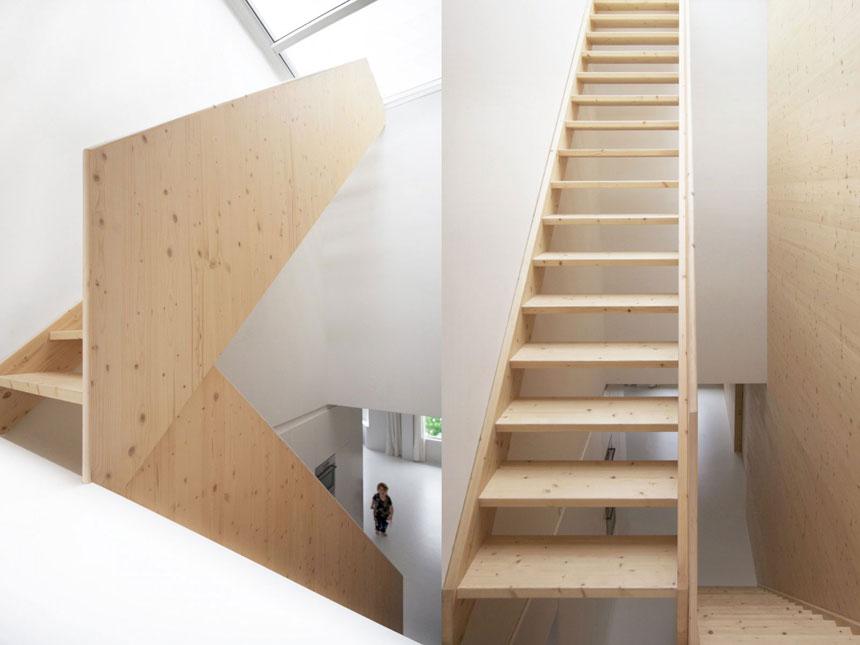 Modern Oak Stairways Design