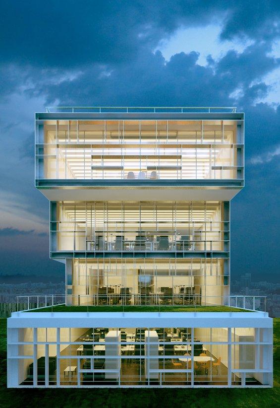 Modern Office Architecture Design
