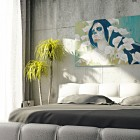 Modern Surreal Art Interior Bedroom Design