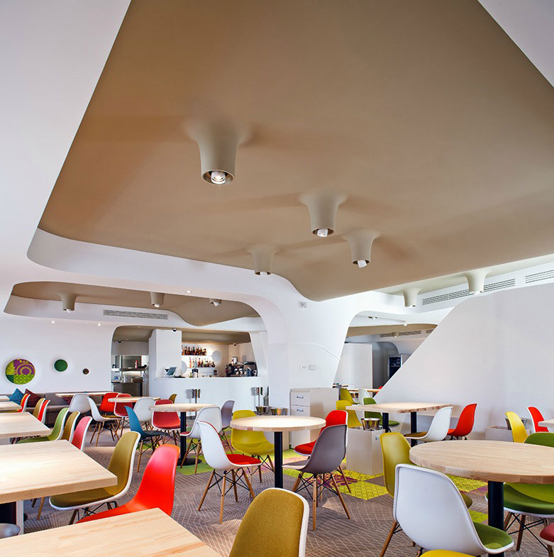 modern and colorful cafe design ideas interior design ideas