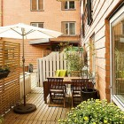 Outdoor Brickwall Design Apartment Ideas