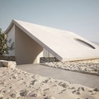 Roof Design Isolated Desert Residence