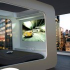 Shopiscated Television Mounted Bed