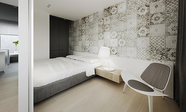 unique and minimalist bedroom wallpaper interior design