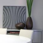White Circular Dining Table Design