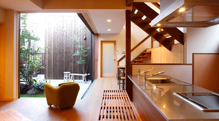 Cool modern japanese kitchens design 2012 kitchen design for Zen style kitchen designs