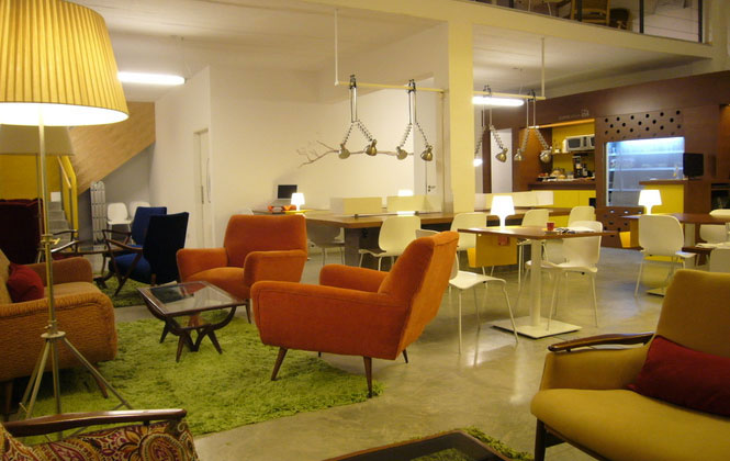 A Modern Seventies Feel Working Space Ideas
