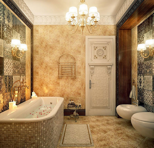 Amazing Mosaic Bathtub Decor Ideas