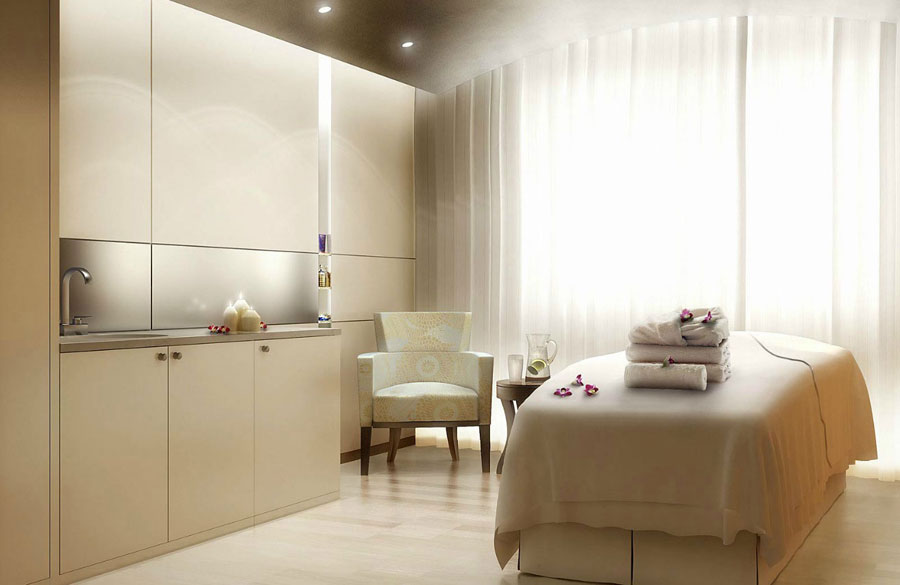 Beautiful Comforts Spa Design With Rose Decor