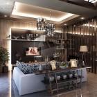 Beautiful Lighting Asian Style Living Room Ideas