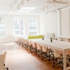 Beautiful White Library Type Working Space