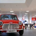 Classic Mini Cooper in Office Decor