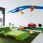 Colorful Funy Kids Playroom Design Ideas