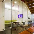 Cool Office Lounge with LCD TV and Couch Ideas
