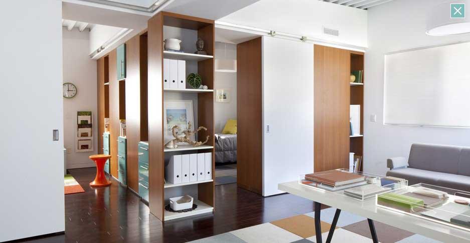 Cool Wooden Furniture Design in Modern Livingroom