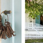 Creative Key Decor in Door Handles Design