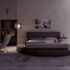 Diva Bedroom Design with Luxury White Rugs