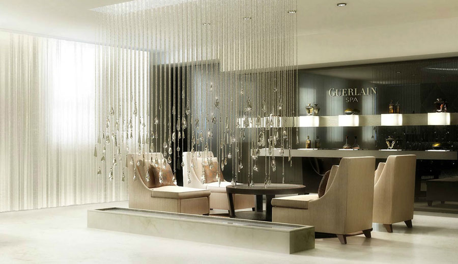 Guerlain Spa Reception Design Ideas