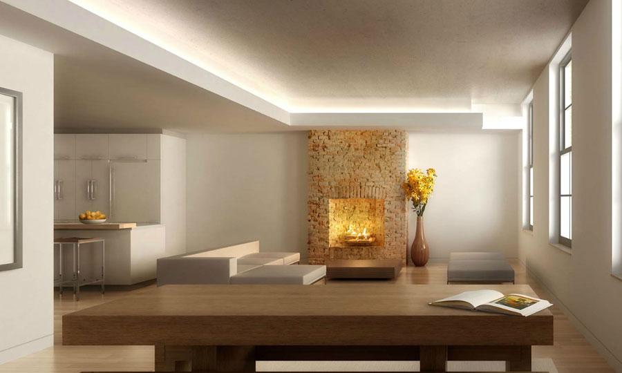Inspiring Fireplace Focus Living Room