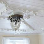 Luxury Ceiling Chandelier in Wihte House